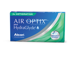 Air Optix Plus HydraGlyde for Astigmatism 6 Stck.