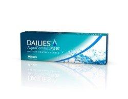 Kontaktlinsen Dailies AquaComfort Plus 30 Stck.