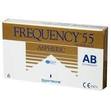Kontaktlinsen Frequency 55 Aspheric 3 Stck.