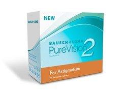 Kontaktlinsen PureVision for Astigmatism 2HD 6 Stck.