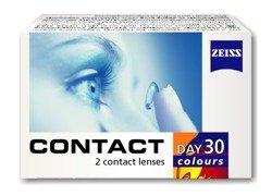 Soczewki Contact Day30 Colours - 1 kolor (moc 0,00) 2szt.